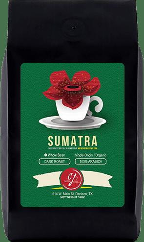 CJs Coffee Cafe - Sumatra Beans