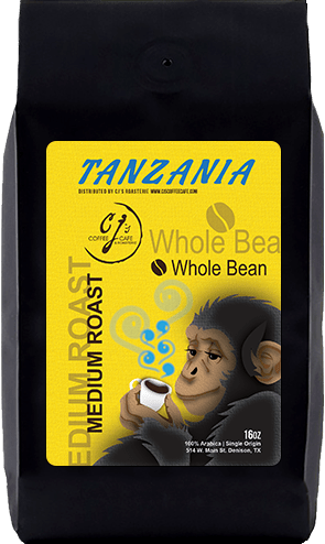 CJs Coffee Cafe - Tanzania Beans