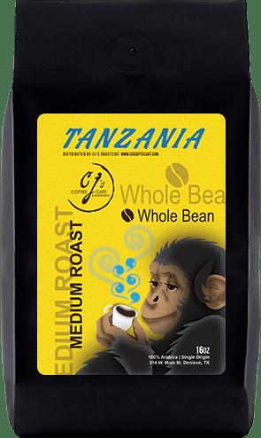 CJs Coffee Cafe - Tanzania Beans