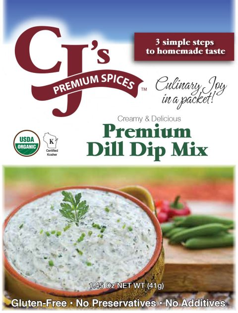 Dill Dip requested at gatherings- CJ's Premium Spices