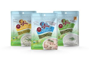 Gluten-Free certification by GFCO, CJ's Premium Spices debuts new packaging, gluten-free certified Organic Spice Blends, CJ's Organic Spice Blends, Organic Potato Salad Mix, Organic Dill Dip Mix, Organic Onion Dip Mix, gluten-free by GFCO, GFCO, delicious, clean label ingredients, craft blended, kosher