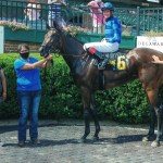 Trickle In Wins The Christiana Stakes at Delaware Park