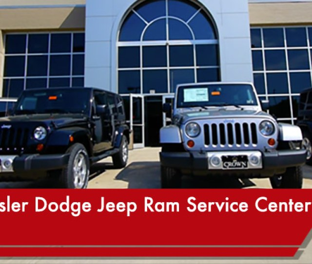 Crown Chrysler Dodge Jeep Ram Of Dublin Service Center