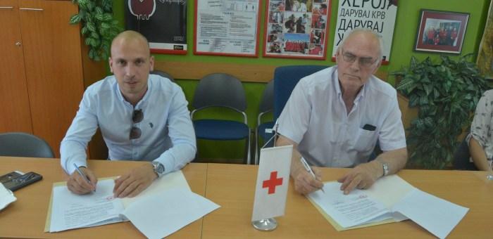 Crveni krst Grada Skoplja domaćin je delegacije Crvenog krsta Cetinja