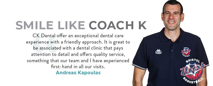 CK Dental Sponsor the Bristol Flyers