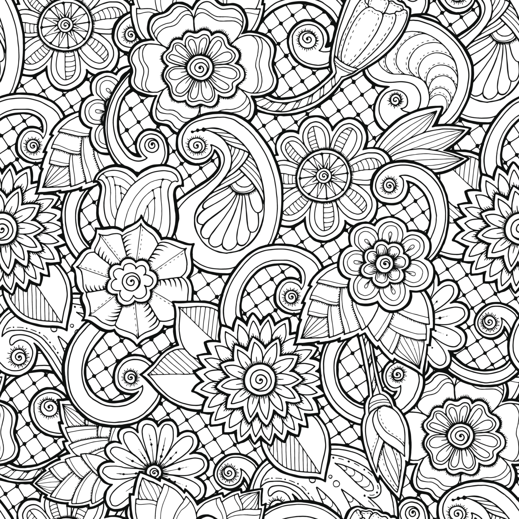 Colouring Pages One Page Page 10