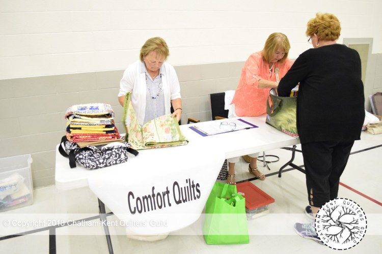 Comfort QUilts by Chatham Kent Quilting Guild