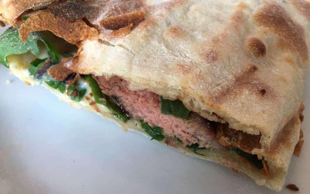 Rindersandwich mit Gorgonzola