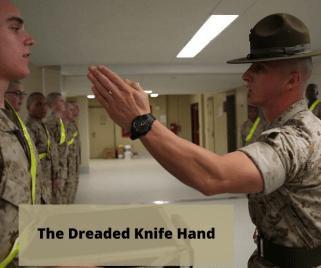 The dreaded knife hand - CK Redlinger