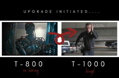 Terminator T-800 vs T-1000