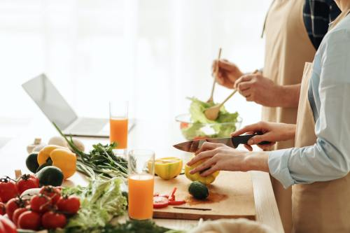 Healthy eating and vegetarianism in senior age