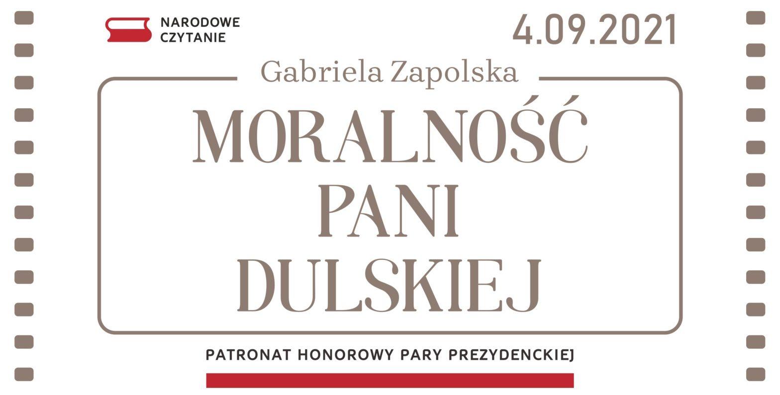plakat narodowego czytania 2021