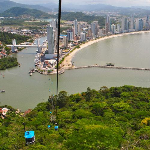 Conheça o Parque Unipraias em Balneário Camboriú