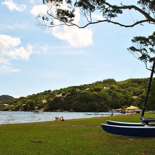 Lagoa da Conceição em Floripa