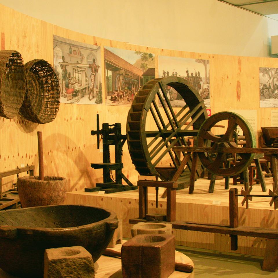 Visita ao Museu Afro Brasil no Parque Ibirapuera em São Paulo