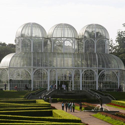 Conheça o Jardim Botânico de Curitiba