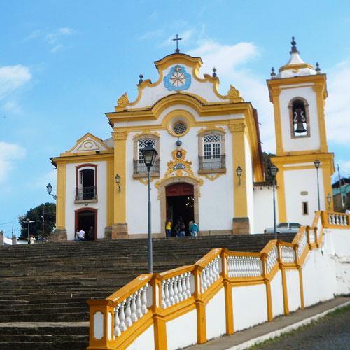 5 Igrejas históricas em São João del Rei