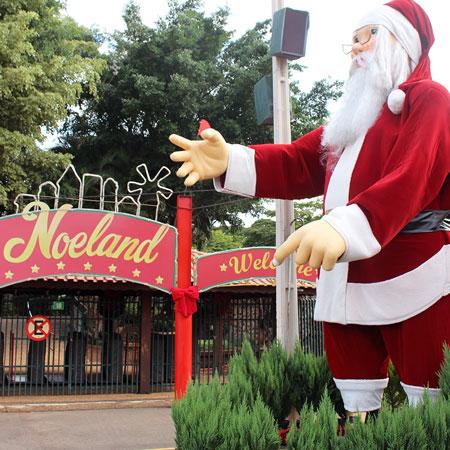 Conheça a Noeland em Holambra no Parque da Expoflora