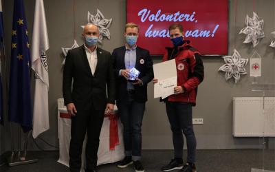 Uručena godišnja volonterska priznanja Hrvatskog Crvenog križa