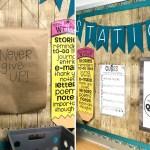 Rustic Themed Classroom Reveal Fun365