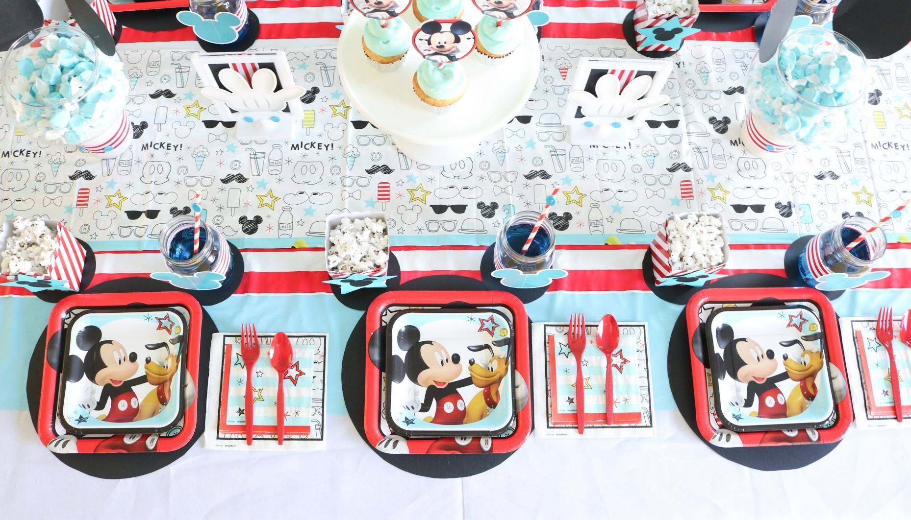 Mickey Mouse 1st Birthday Party Fun365