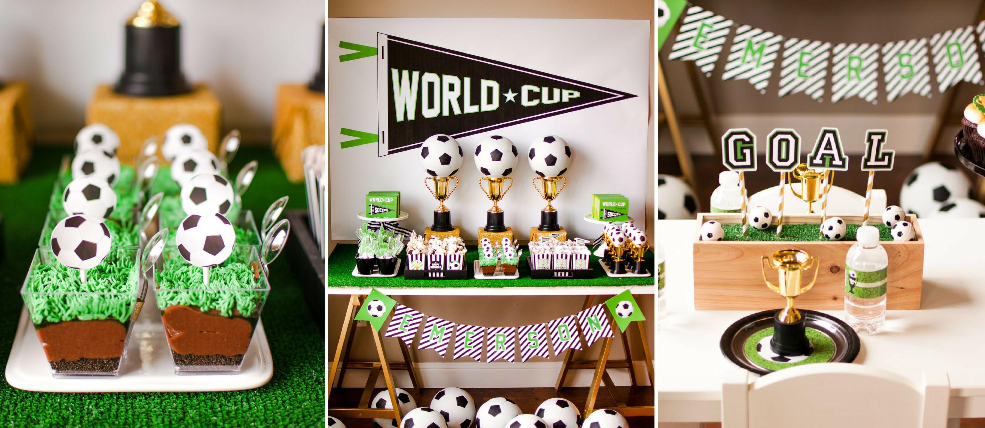 Soccer Themed Birthday Party Fun365