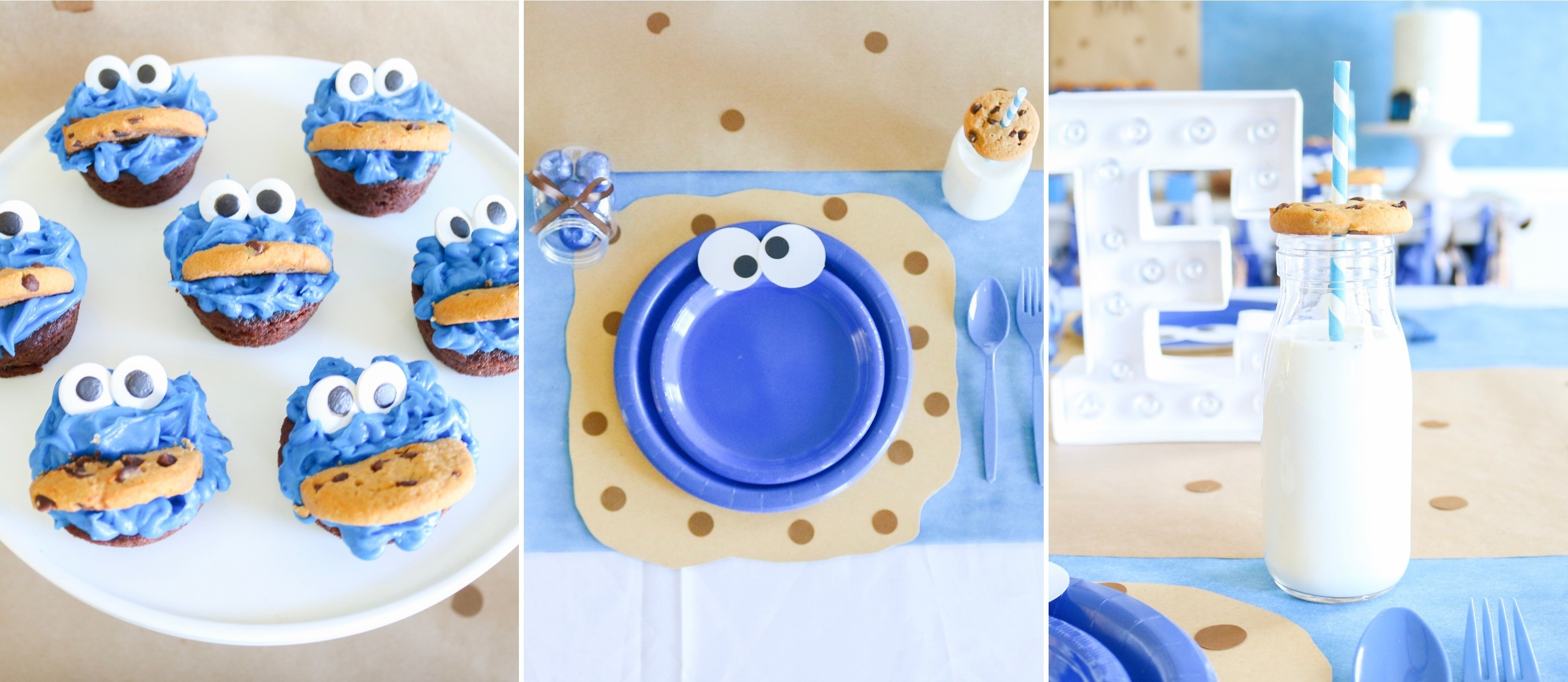 Cookie Monster Birthday Party Fun365