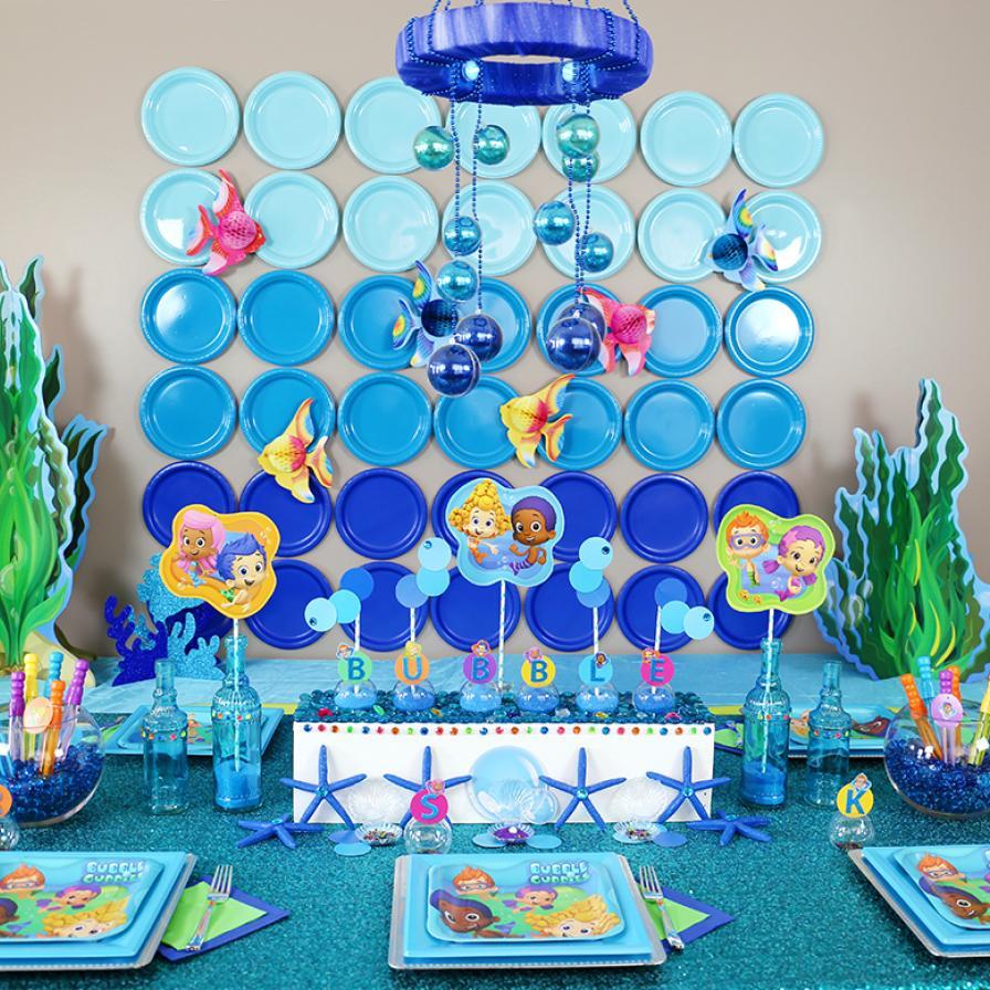 Bubble Guppies Diy Party Ideas Fun365