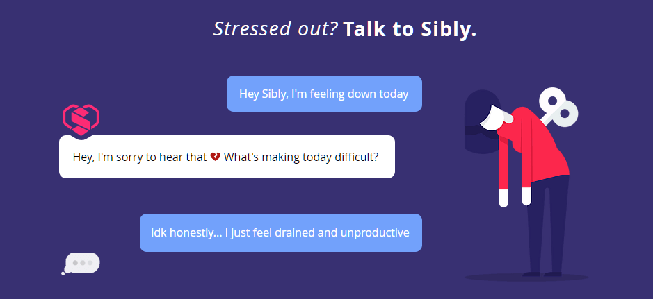 Sibly an innovative mental heath platform