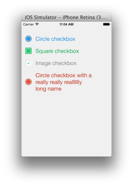 TNCheckbox for IOS