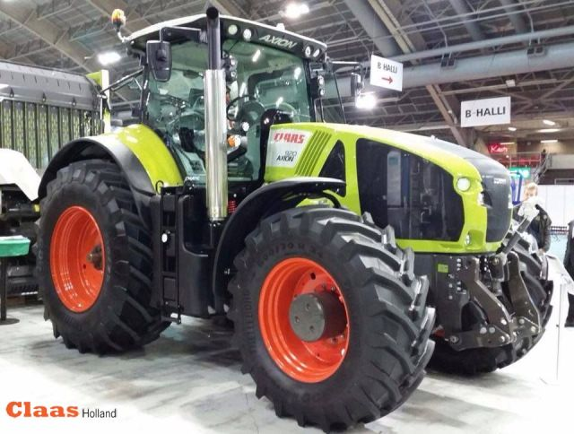 Claas op de beurs KoneAgria in Finland photo from Ilkka Suur-Uski