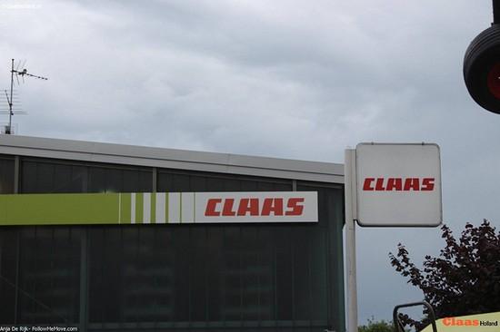 Claas Grünlandabend in Erlstätt , Bayern, Duitsland. *Foto-report*