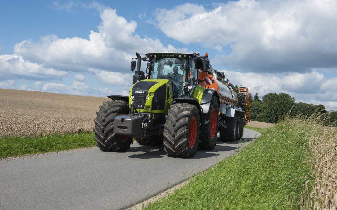 Nieuwe generatie Claas Tractoren.