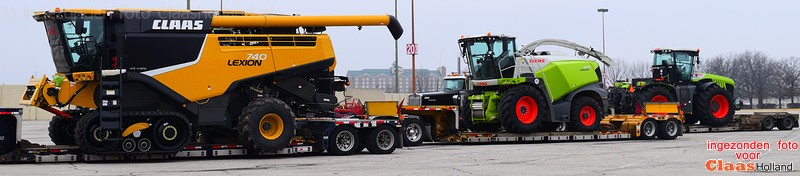 Claas transport in the USA part Three !