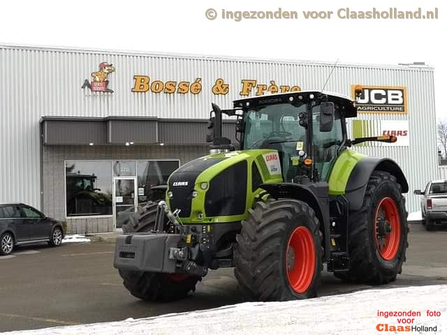 Claas Axion 900 in Canada (with English)