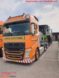 Van Der Vlist Twente op pad met nieuwe Lexion's. deel 10