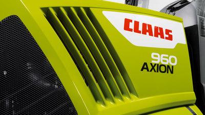 CLAAS AXION 960 CEMOS is de duurzaamste tractor van het jaar 2021!