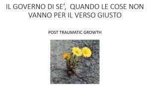 Crescita post traumatica