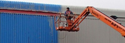 On-site spraying