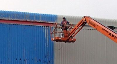 On-site spraying