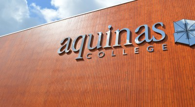 Aquinas College Wooden Cladding Spraying Refurbishment