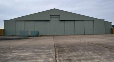 Aircraft Hanger, Greenham, Berkshire