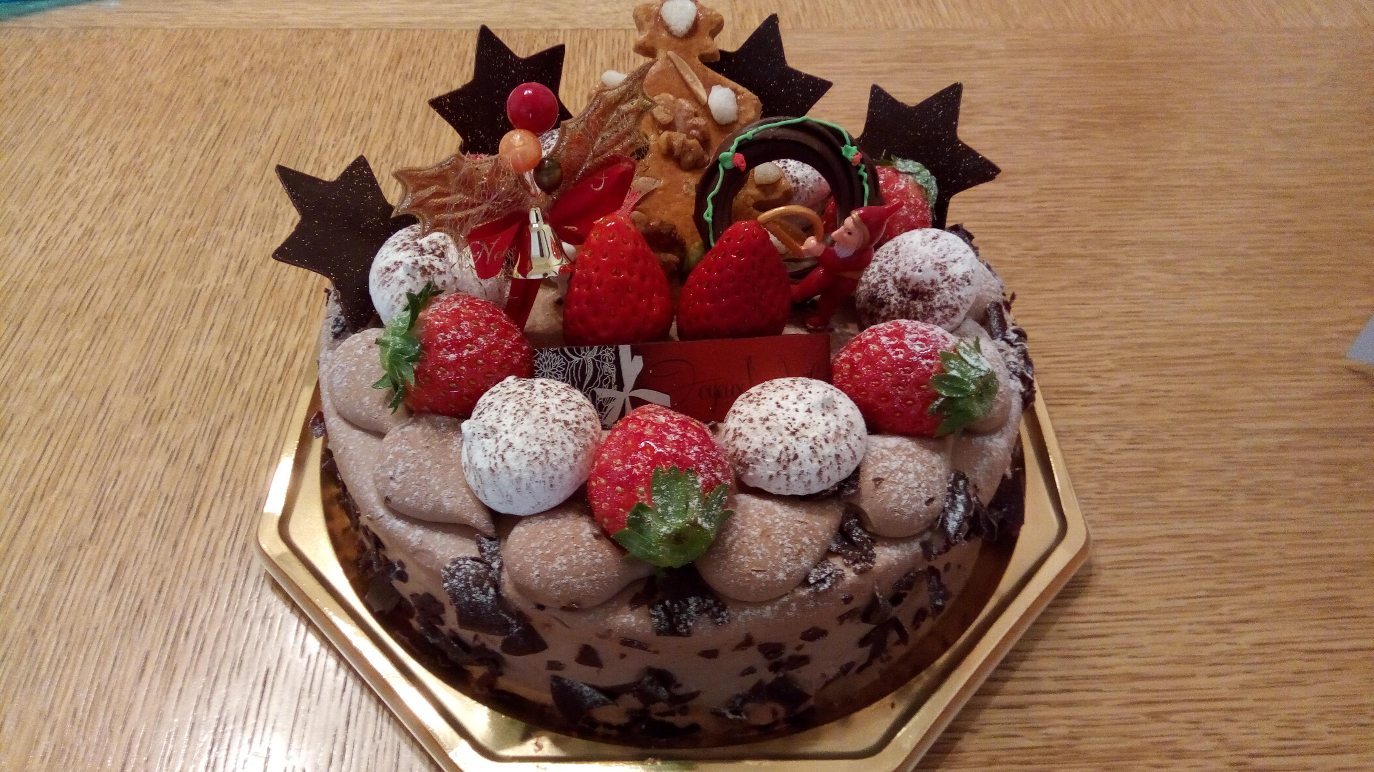 おしゃれで美味しいケーキでした~おおたかの森「レタンプリュス」のクリスマスケーキ