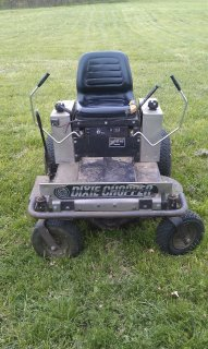 our Dixie Chopper ZTR mower