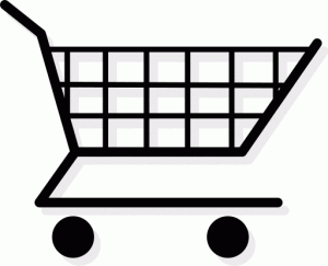 shopping cart clipart image