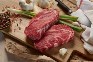 ButcherBox ribeye stock photo