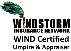 Windstorm Insurance Network certified umpire and appraiser