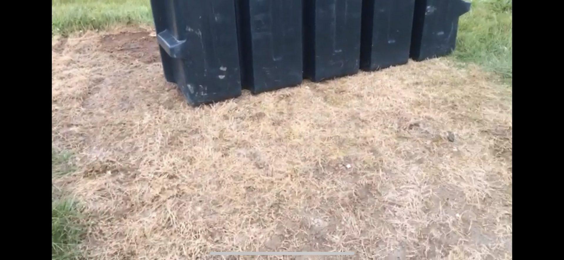 Oil Leak onto lawn