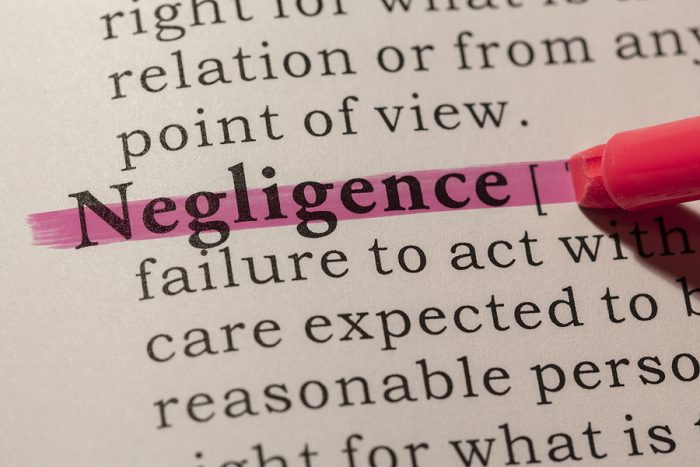 Liability for Negligence