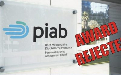 Most personal injury claimants no longer accepting PIAB awards